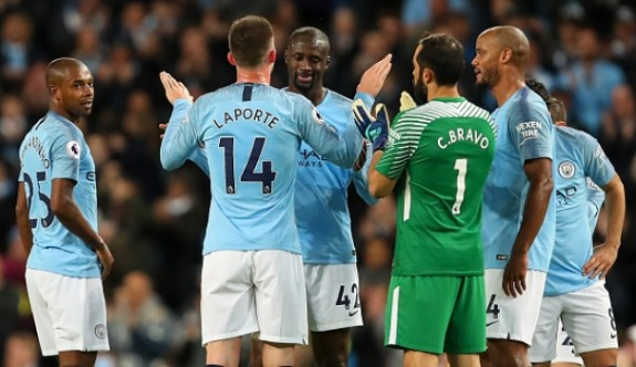 Manchester City'den puan rekoru