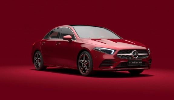 Mercedes A-Serisi L Sedan görücüye çıktı