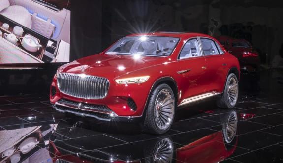 Mercedes'ten sıra dışı bir SUV konsept