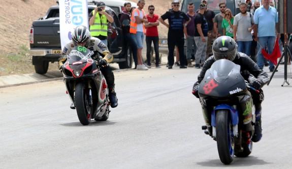 Motodrag heyecanı, Aydınköy'de yaşandı