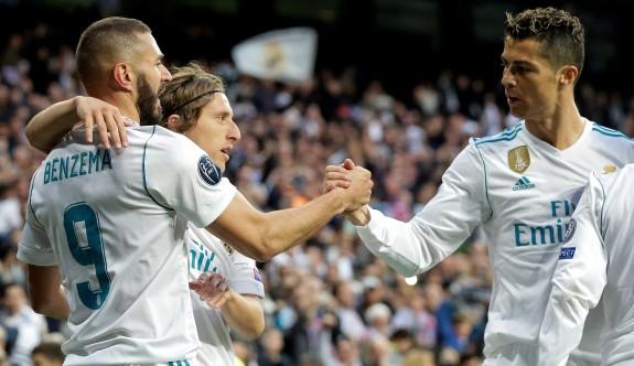 Müthiş maçta  son gülen Real