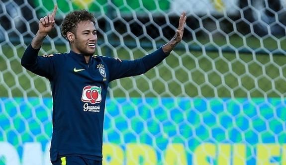 Neymar, Dünya Kupası için 'Hazırım' dedi