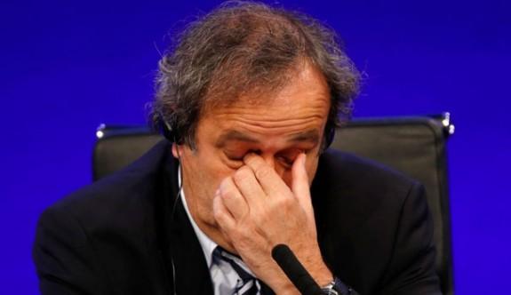 Platini'den tarihi itiraf