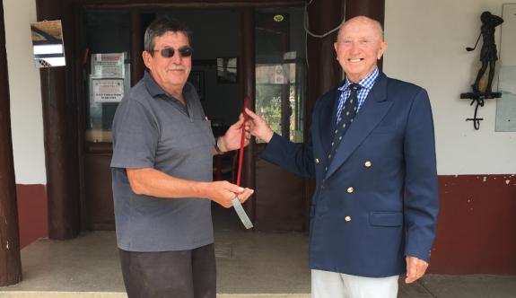 President Putter Golf Turnuvası Şampiyonu Alan Valentine