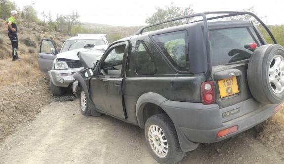 Ralli özel etabında görünmez kaza