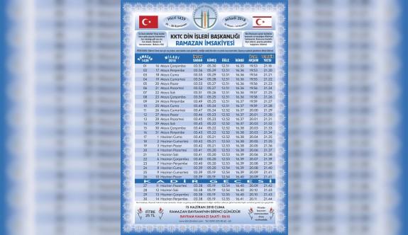 Ramazan başlıyor,ilk iftara Recep Akdağ'da katılacak