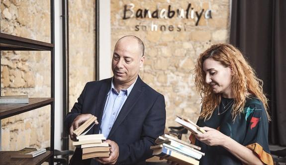 SAYTEV'den Bandabulya Sahnesi'ne kitap bağışı