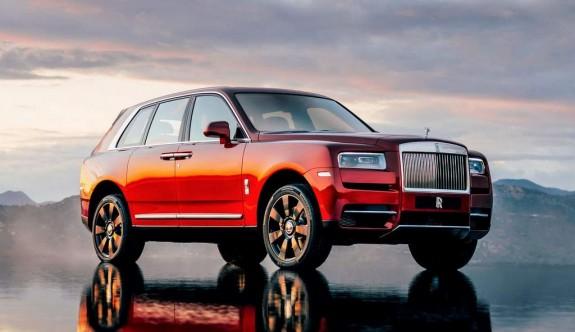 SUV/Crossover modellerin en lüksü:  Rolls Royce Cullinan