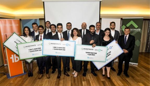 Türk Bankası girişimci gençleri ödüllendirdi