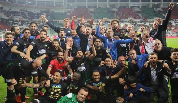 Türkiye Kupası Akhisarspor'un