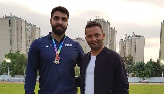 YDÜ'lü atlet, Türkiye ikincisi