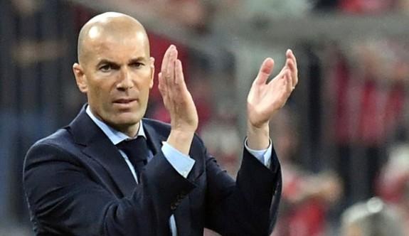 Zidane'dan şok istifa