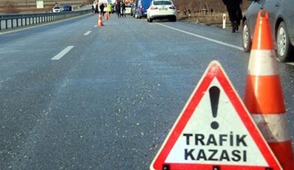 Bir Haftalık trafik kazası bilançocu: 1 ölü 46 yaralı