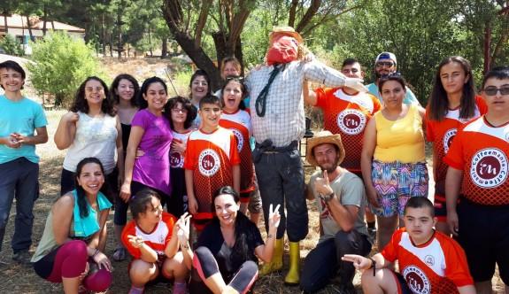 Çocuklar, Düşler Akademisi Kaş'ta alternatif kamp yaptı
