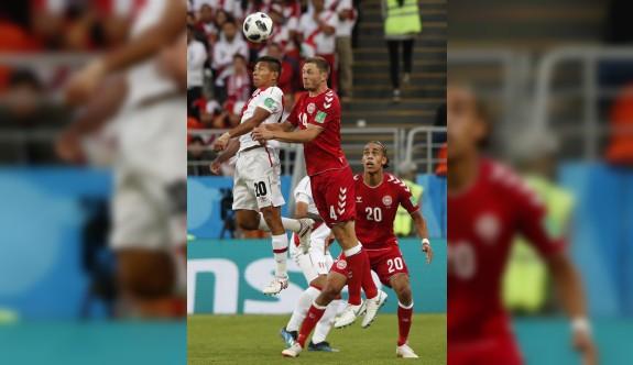 Danimarka, Peru'yu tek geçti