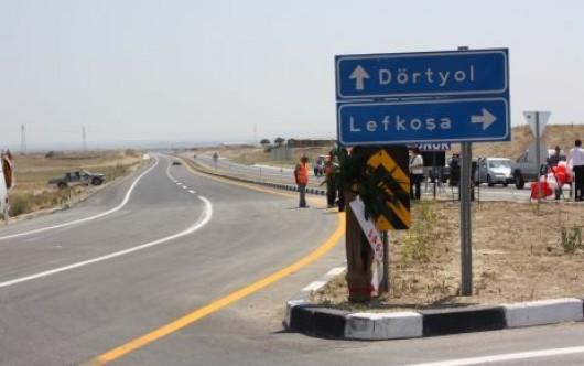 Dörtyol - Geçitkale yolu trafiğe kapatıldı