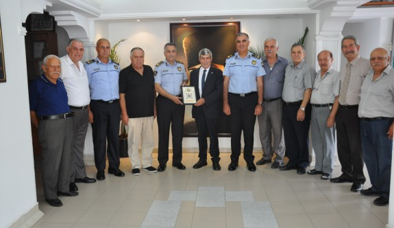 Emekli Polisler Derneği'nde görev bölümü yapıldı