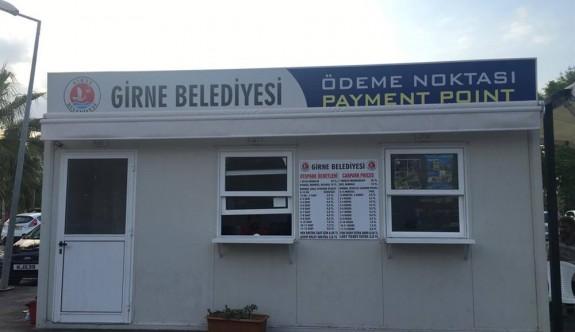 Girne Belediyesi'nden ödeme kolaylığı