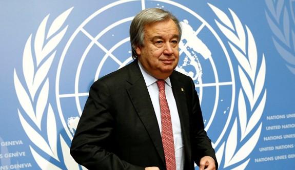 Guterres BM yetkilisini nabız tutmaya gönderiyor