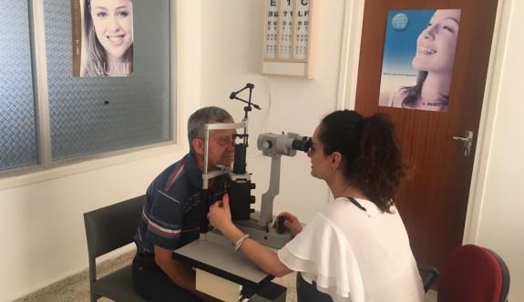Güzelyurt Sağlık Merkezi'nde tam zamanlı Göz doktoru görev başında