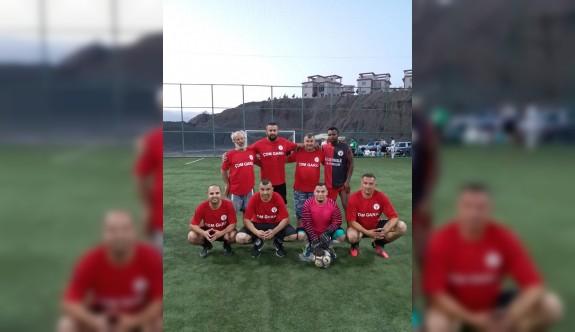 Hamitköy Spor Kulübü halı sahası açıldı