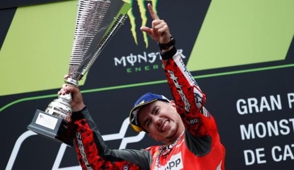 İspanya'da zafer Lorenzo'nun