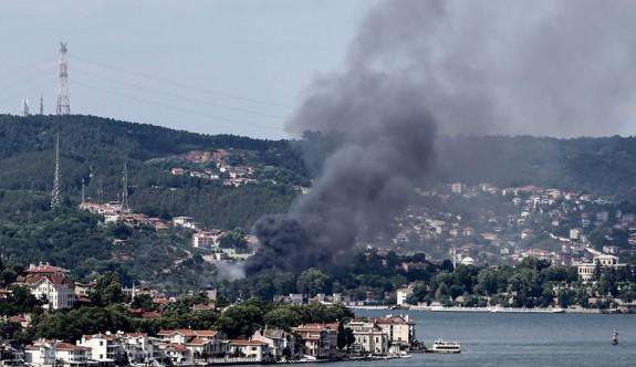 İstanbul'da dizilerin çekildiği ünlü mekanda yangın