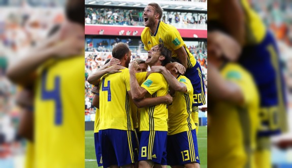 İsveç,lider tamamladı