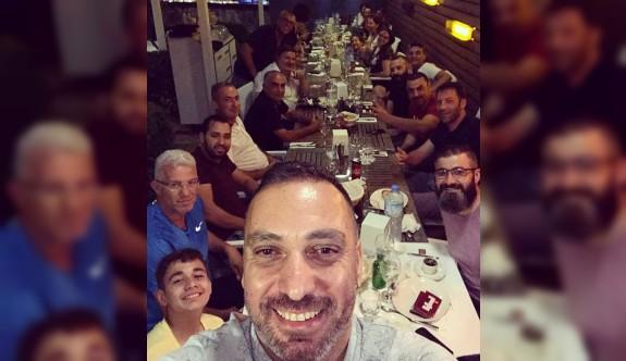 KTKOD yönetimi, bayram yemeğinde buluştu