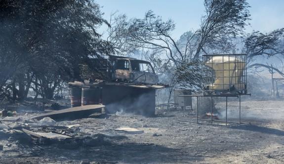 Limasol Genel Hastanesi'ne yakınında büyük yangın