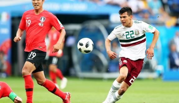 Meksika, Güney Kore'yi de devirdi