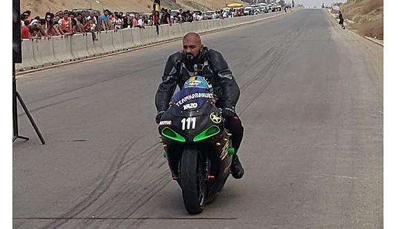 Motosikletçi Karakurt ağır yaralı