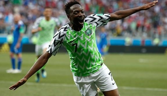 Nijerya'yı Ahmed Musa sırtladı