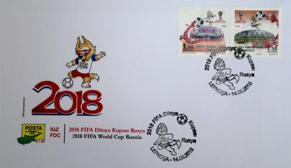 """Posta Dairesi, """"2018 FİFA Dünya Kupası Rusya"""" pul serisi çıkardı"""