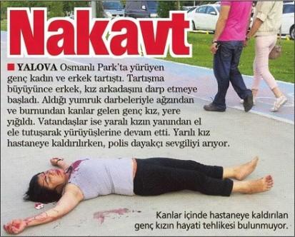 Şiddet haberlerinde travma uyarısı
