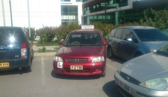 Şoför okulu böyle park ederse…