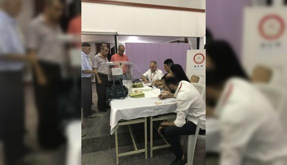 Türkiye'deki seçim için KKTC'de 47 bin 70 kişi oy kullandı
