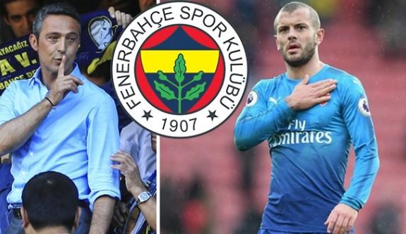 Wilshere, Fenerbahçe için İstanbul'da