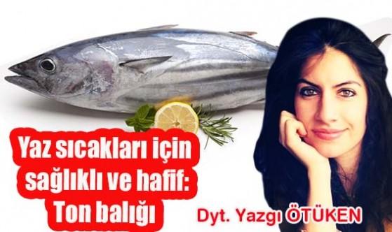 Yaz sıcakları için sağlıklı ve hafif : Ton balığı