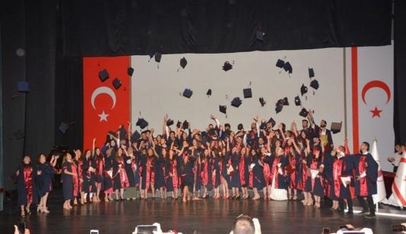 YDÜ Sağlık Bilimleri Fakültesi'nden 105 mezun daha
