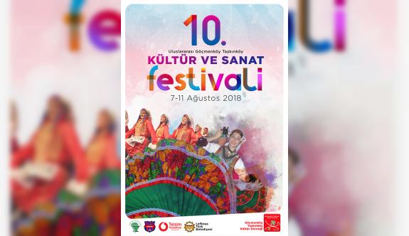10. Uluslararası GÖÇ-TAŞ Festivali 7 Ağustos'da