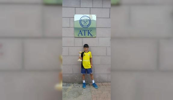 Aren, Ankara'da şampiyon