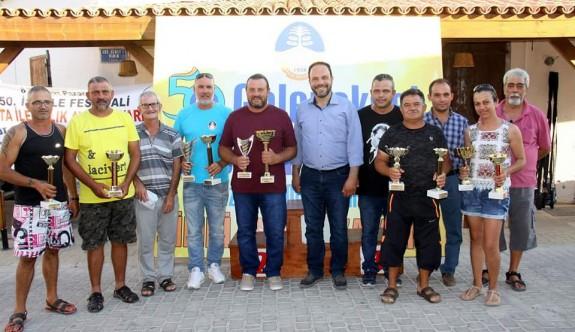 Balık tutkunları Karpaz'da buluştu
