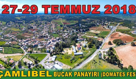 Çamlıbel Domates Festivali 27-29 Temmuz'da