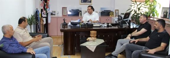 Çanakkale yönetiminden Değirmencioğlu'na ziyaret