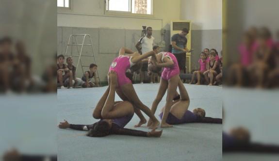 Cimnastik şöleni gerçekleştirildi