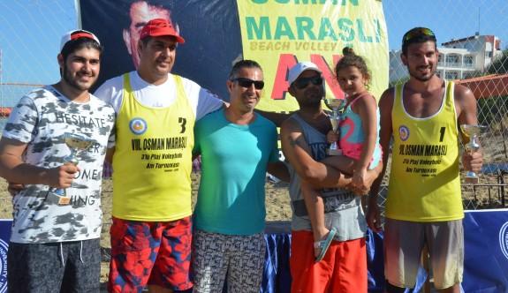 DAÜ 8. Osman Maraşlı Anı Turnuvası'nda şampiyonlar belli oldu