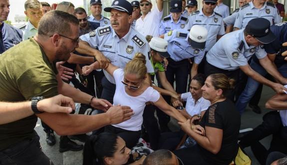 Ercan'da gerginlik tırmanıyor