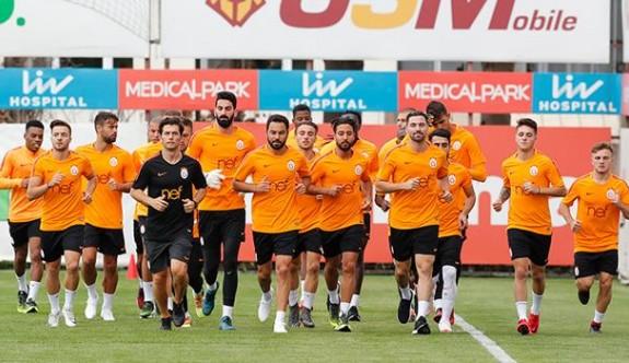 Galatasaray'da iki isim kadro dışı