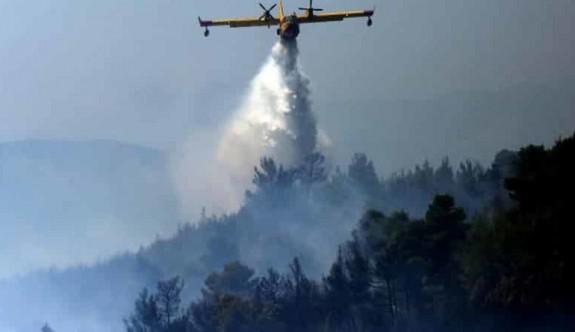 Güney'deki Pirgo köyünde orman yangını büyüyor